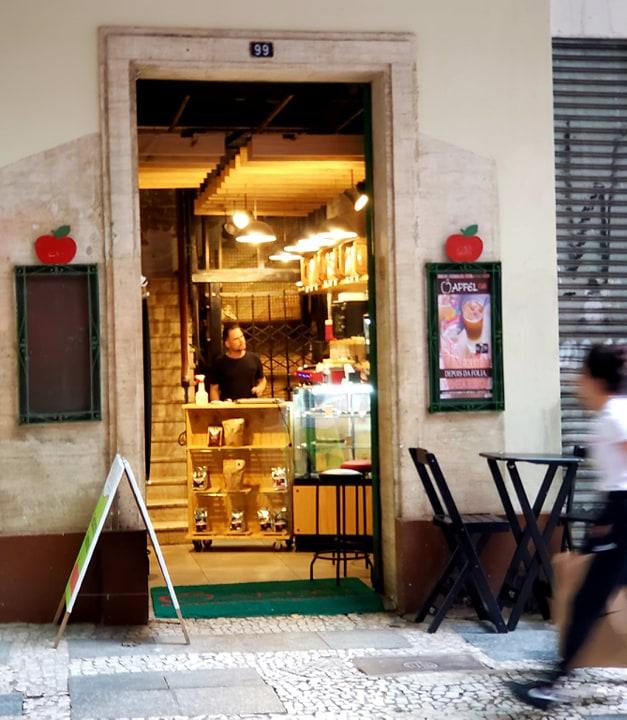Cafés na região da República - Apfel