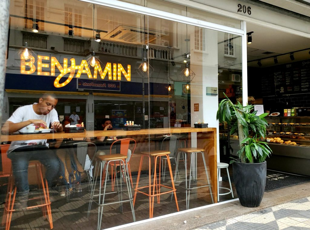 Cafés na região da República - Benjamin