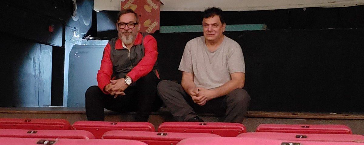 Ivam Cabral -Rodolfo-Bijou - Satyros fecham teatro