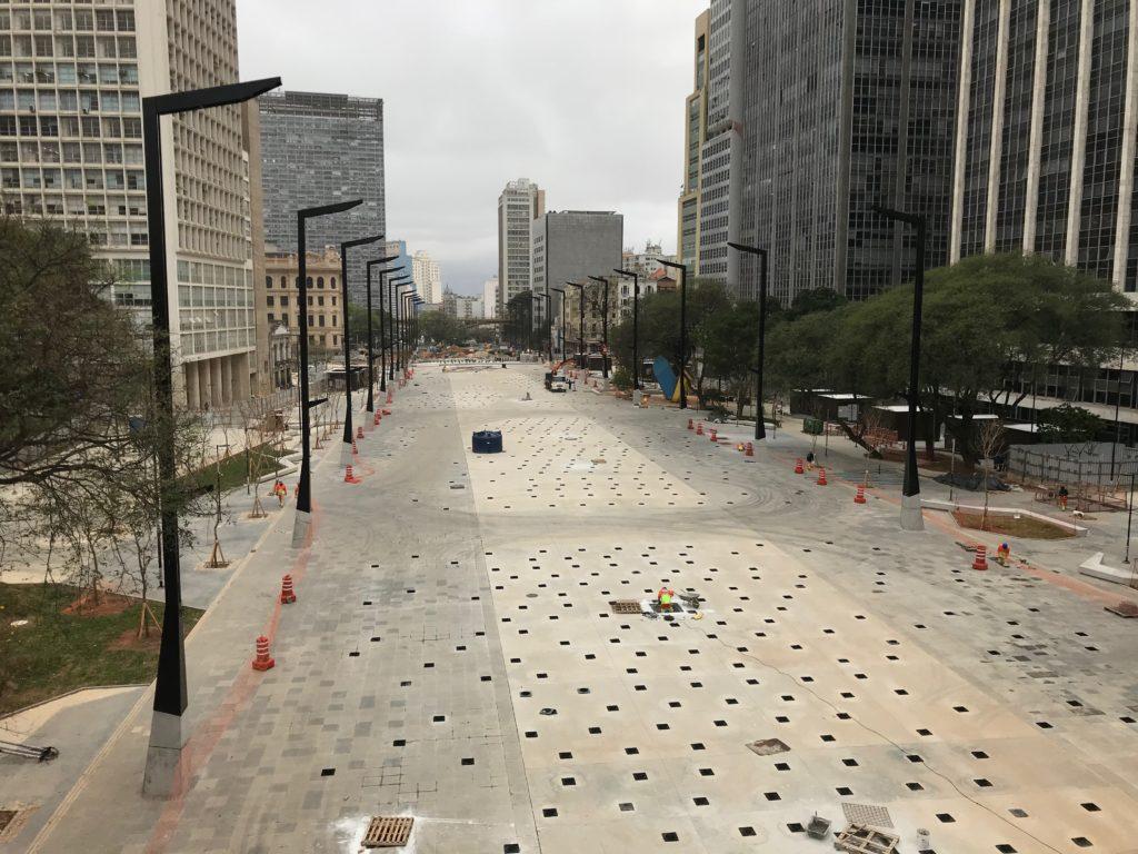 Arquiteto Mario Biselli, autor do projeto de reforma do Vale do Anhangabaú diz que o local se transformará numa grande praça cívica